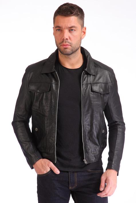 Куртки кожаные мужские фото купить